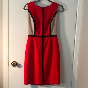 Calvin Klein Color-block Shift Dress, size 4